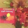 11月の親子英語クラスは、Fall Leaves & Harvestの画像