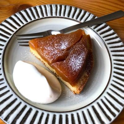 タルトタタン風ケーキ焼きました with Milk Teaの記事に添付されている画像