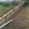 日本で柵作りの画像