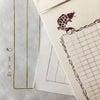 便箋、封筒、お手紙大好きの画像