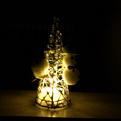 光るクリスマスツリー♡の記事に添付されている画像