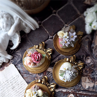 cakendeco chocolateflowercake Acourse♡の記事に添付されている画像