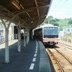 回廊のある木造駅舎 伊予鉄道・高浜駅
