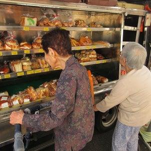 パンの移動販売の画像
