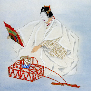 能画「松風」の画像