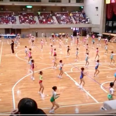 しゅうか フライト競技予選 関東エアロビック選手権大会 横浜文化体育館 2018の記事に添付されている画像
