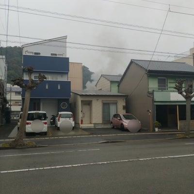 393 栄町で火事。の記事に添付されている画像