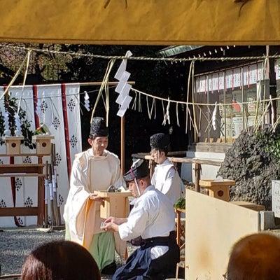 靖國神社御創立150年奉納鞴祭 ご報告の記事に添付されている画像