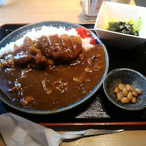 大阪のカレーの記事に添付されている画像