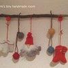 セリアでクリスマス品を調達の画像
