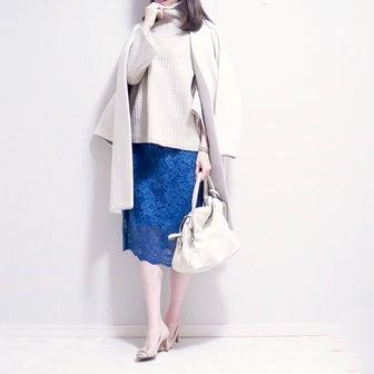 【GU】1,000円台には見えない♡カジュアルをオフィス仕様にしてくれるスカート