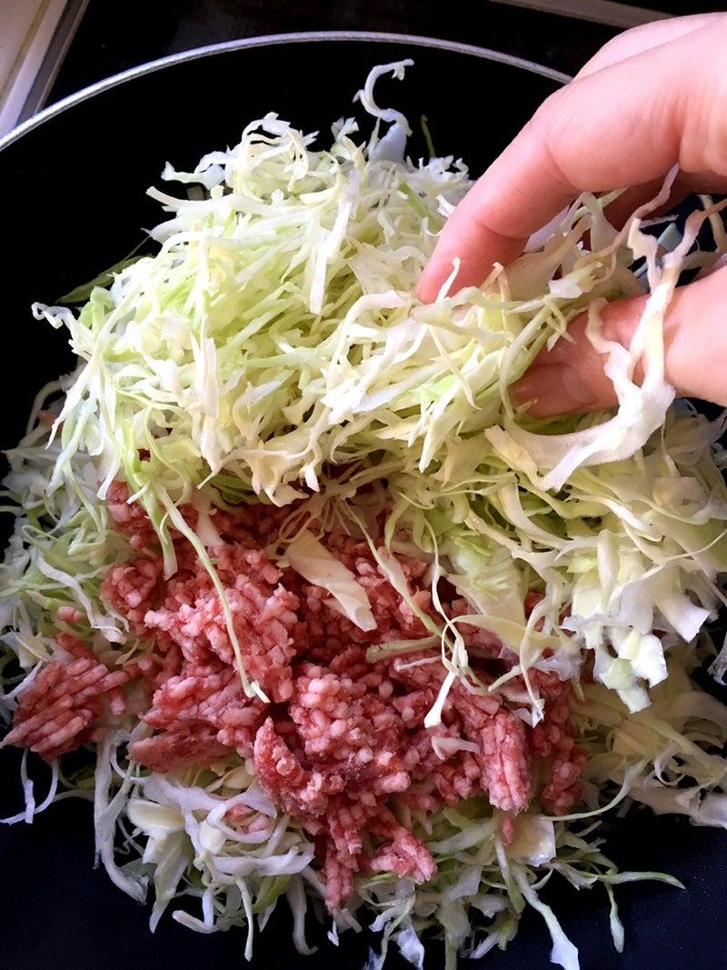 ひき肉 キャベツ