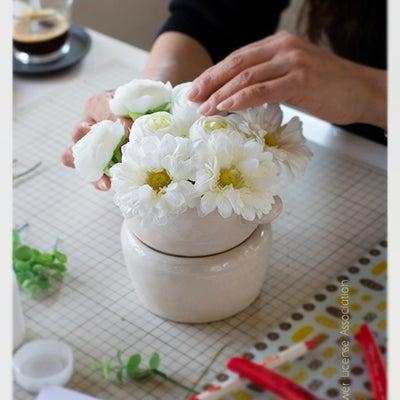 日本花資格協会で学んだ技術・知識 を応用・使用しオリジナル作品を制作するの記事に添付されている画像