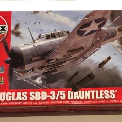エアフィックス1/72「SBD-3 ドーントレス」の記事に添付されている画像
