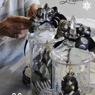 「ガラスジャーアレンジメント」クリスマスレッスンbloomishフラワーアレンジメント教室の記事より