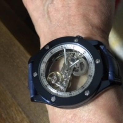 ヤフオク 1円時計の記事に添付されている画像