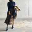 今年もマストバイな無印良品ニットと正統派スカート。