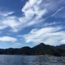 熊野の海と空
