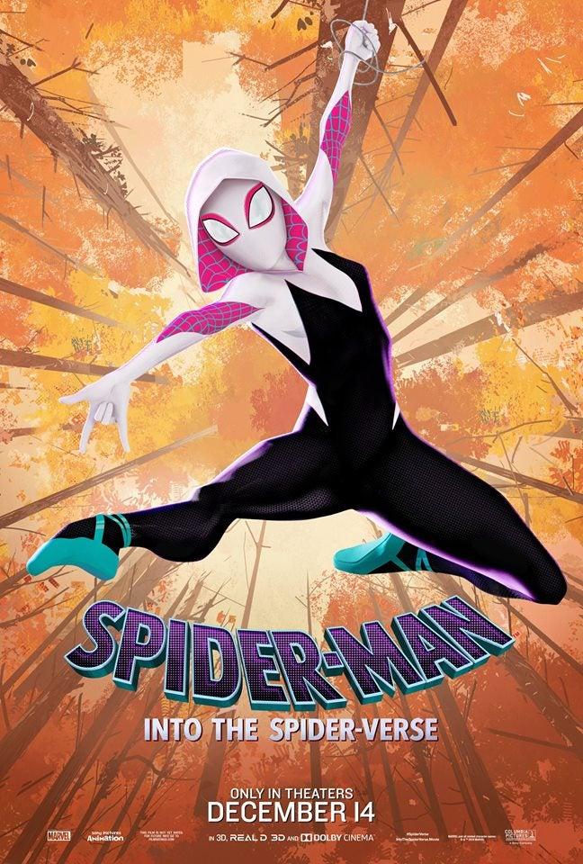ピーター・パーカーの彼女であるグウェンがスパイダーマン化したスパイダーグウェン。