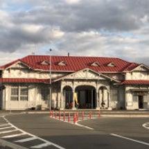 阪堺電車と浜寺公園駅