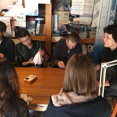 岐阜国際交流協会主催の藍染め体験❣️の記事に添付されている画像