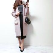 スッキリ細身ラインで大人っぽさと可愛さを両立したチュールプリーツスカート♡