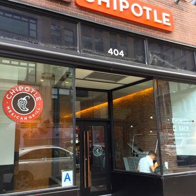 ニューヨーク★メキシカン ファストフード「Chipotle」の記事に添付されている画像