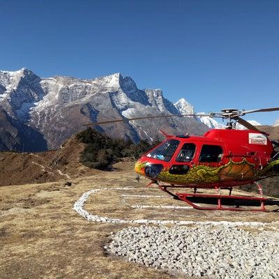 エベレストベースキャンプ ヘリコプターツアーの記事に添付されている画像