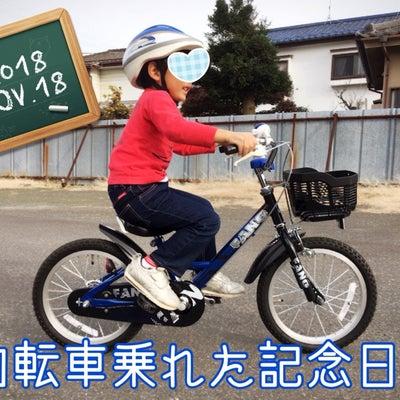 11月18日息子の自転車乗れた記念日に認定!親の役目は?の記事に添付されている画像
