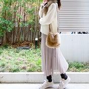 UNIQLO 大きめサイズが可愛いブークレーセーター ♪