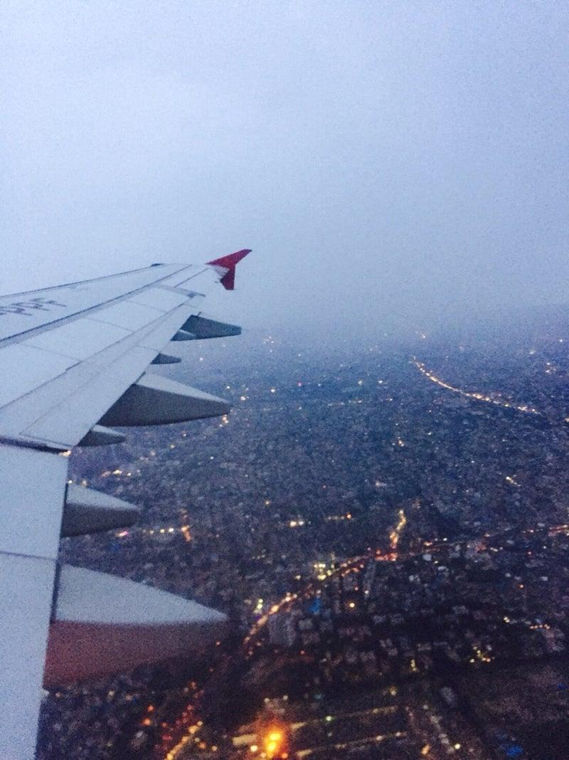 飛行機から見たインド