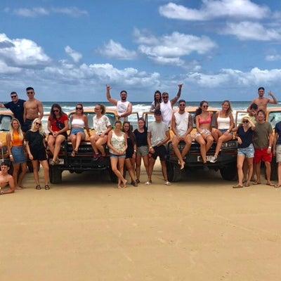 オーストラリア留学・週末にフレザー島に~♪の記事に添付されている画像