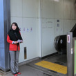 成田線湖北駅にて朝練…