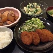 【昨日の晩ごはん☆お惣菜活用!】