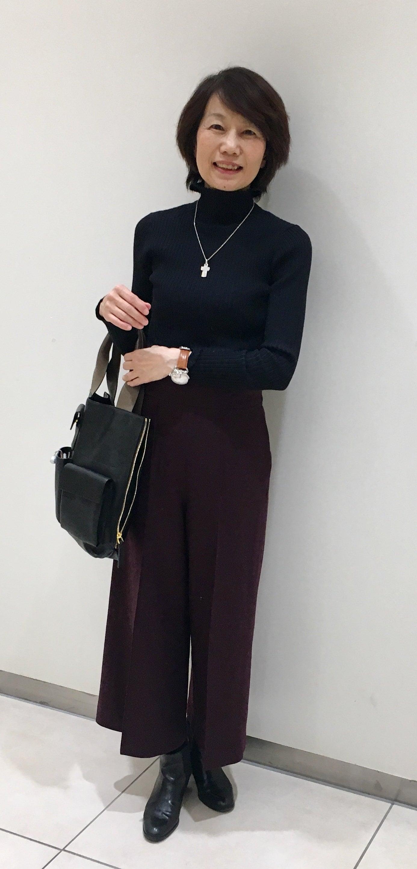 服を変えれば、生き方が輝く!私がはじまるファッションコーデ50代 ファッション 骨格タイプナチュラル パーソナルカラー サマー スタイリング事例