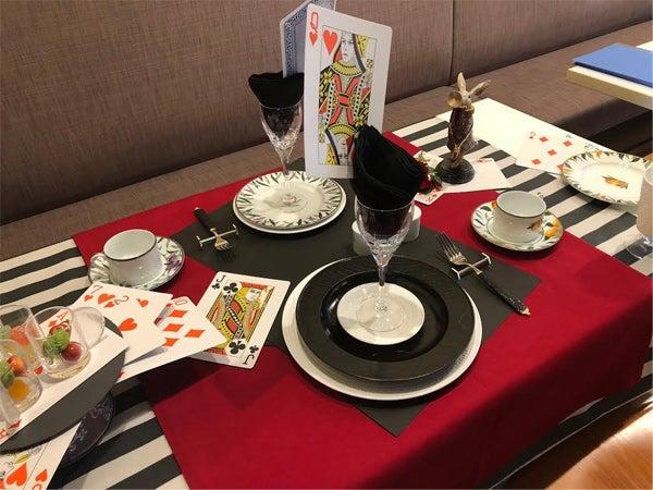 「トランプ テーブルコーディネート」の画像検索結果
