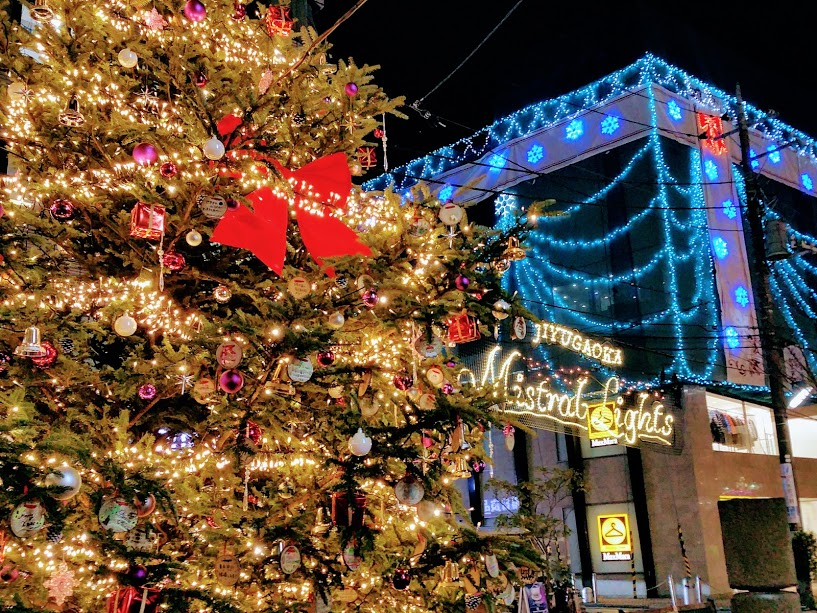 今年もクリスマスイルミネーションが登場!自由が丘の【クリスマス点灯式】2018