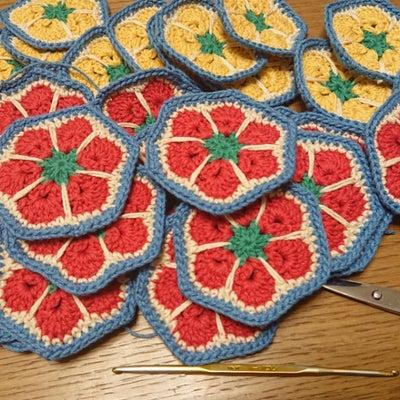 モチーフ、予定数編み上がり♪の記事に添付されている画像