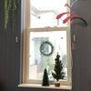 ダイソー商品2個つかって、大人っぽく、窓をクリスマス仕様に♡の画像