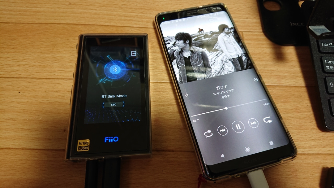 fiio m9 ファームウェア