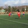 サッカー苫小牧遠征試合の画像