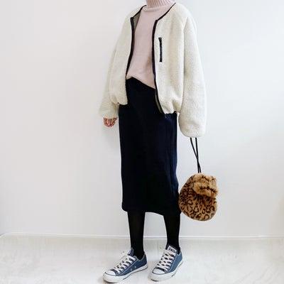 【ユニクロコーデ】プチプラで今っぽい!ボアスウェットスカート【UNIQLO】の記事に添付されている画像