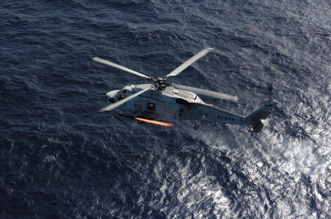 海上自衛隊  SH-60J/K 哨戒ヘリコプターについて