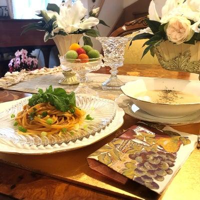 ●KALDI(カルディ)のウニクリームパスタ&じゃが芋パルミジャーノスープで☆おの記事に添付されている画像