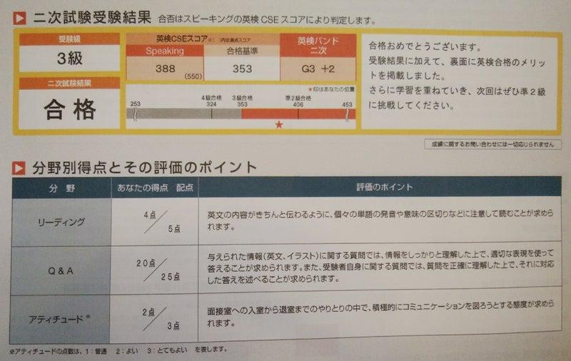 英 検 2 次 合格 発表