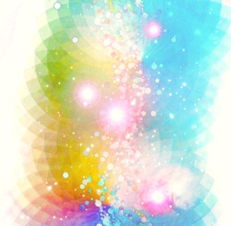 rainbow bird and crystal healing