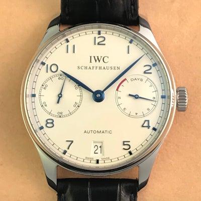 IWC ポルトギーゼ オートマティック 7DAYS IW500107の記事に添付されている画像