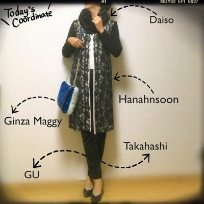 ootd 11/19 ★ Hanahnsoon レースロングジャケット&銀座マギの記事に添付されている画像