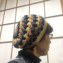 あまり毛糸でニット帽の記事に添付されている画像