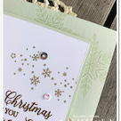 好きすぎて、結局、主役にしてみた。パンチやダイが無くても作れちゃうクリスマスカード。の記事より